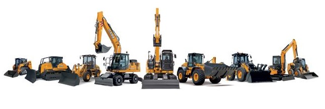 maszyny budowlane CASE